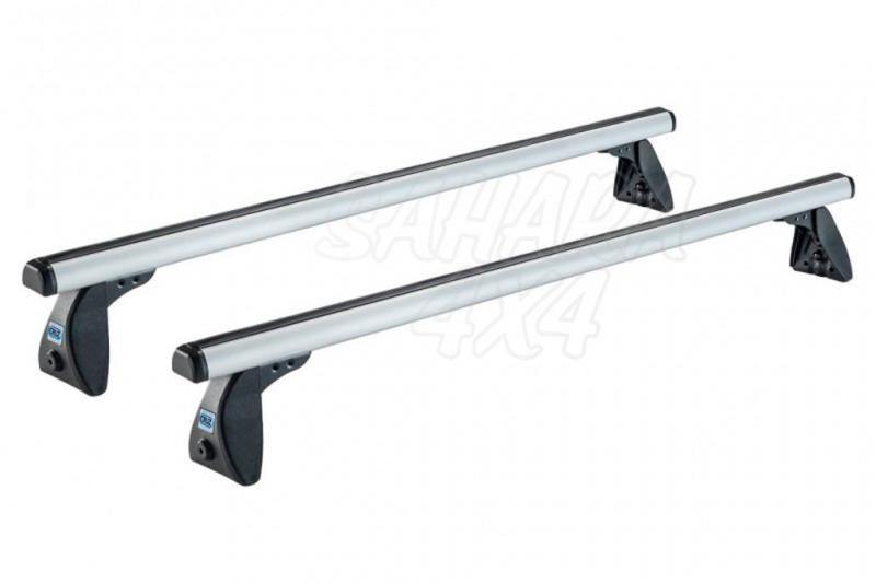 Kit Barras Cruz Aluminio Freelander II - Kit de 2 barras