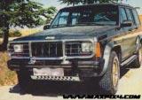 Protectores en acero zincado de 3 mm Jeep Cherokee XJ - Disponible : Cubrecarter, Cubrecambio y transfer, Protector diferencial Trasero (especificar producto y modelo del vehiculo)