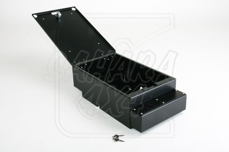 Caja seguridad debajo el cubbybox para Defender