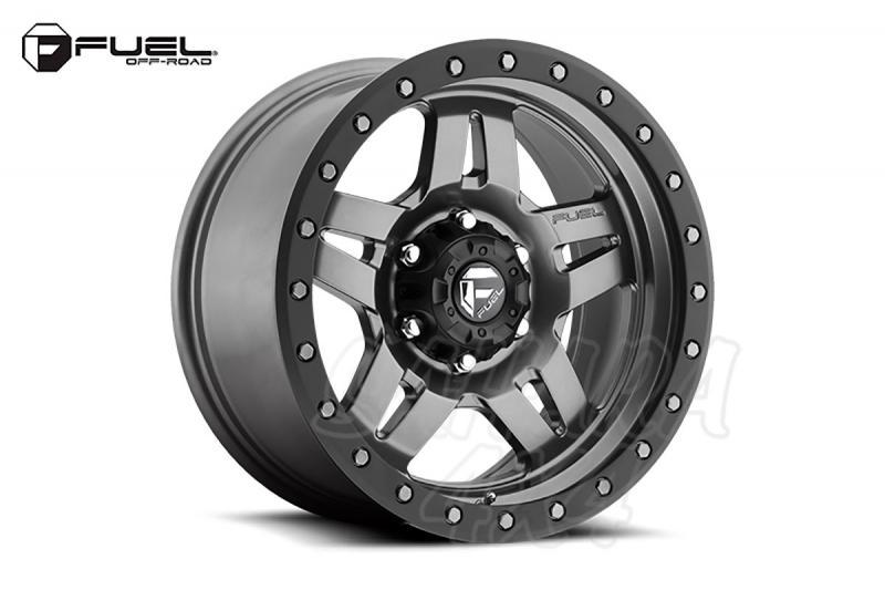 Llanta Fuel Anza Aluminio para Toyota Land Cruiser 120/150 - Medida: 8.5x17 6x139.7 ET+6 (+10cm)