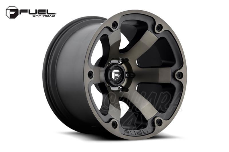 Llanta Fuel Beast Aluminio para Toyota Land Cruiser 120/150 - Medida: 9x18 6x139.7 ET+20 (+9.5cm)