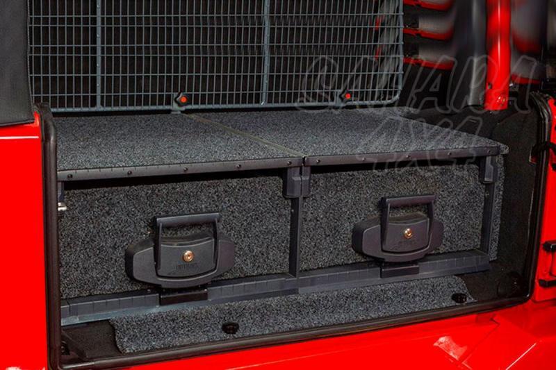 Kit de montaje para ARB Drawers para Jeep Wrangler JK 2 puertas