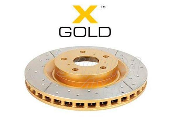 Disco de Freno DBA X-GOLD para Jeep Grand Cherokee WJ/WG