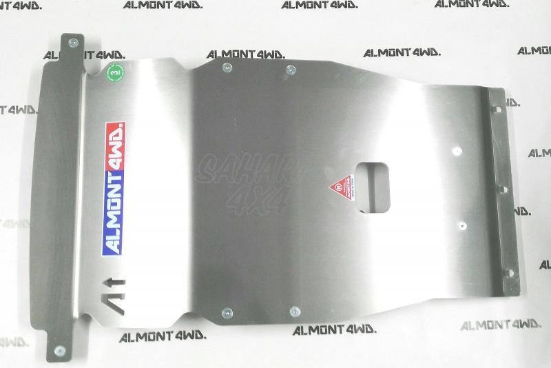 Protectores Almont para Land Rover Discovery V (2017-) - Duraluminio H111, Frontal en 8mm