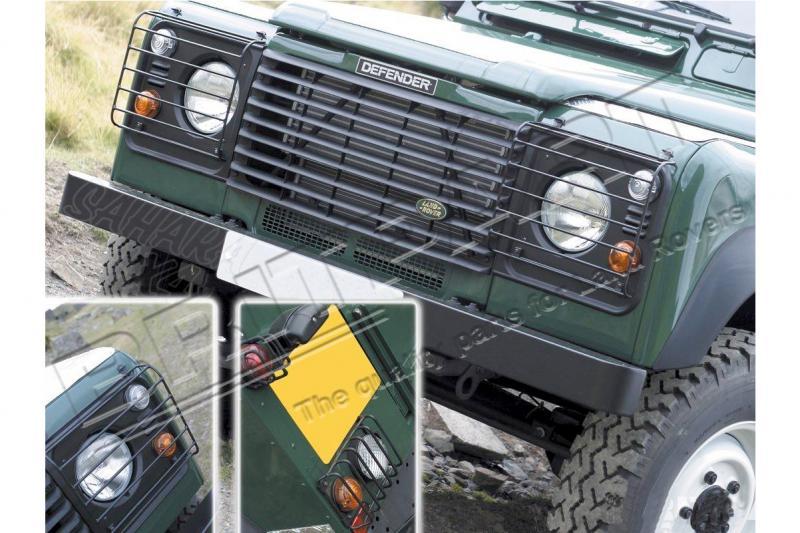 Protectores de faros Rejilla Defender 90-110 td5 - Delanteras y traseras