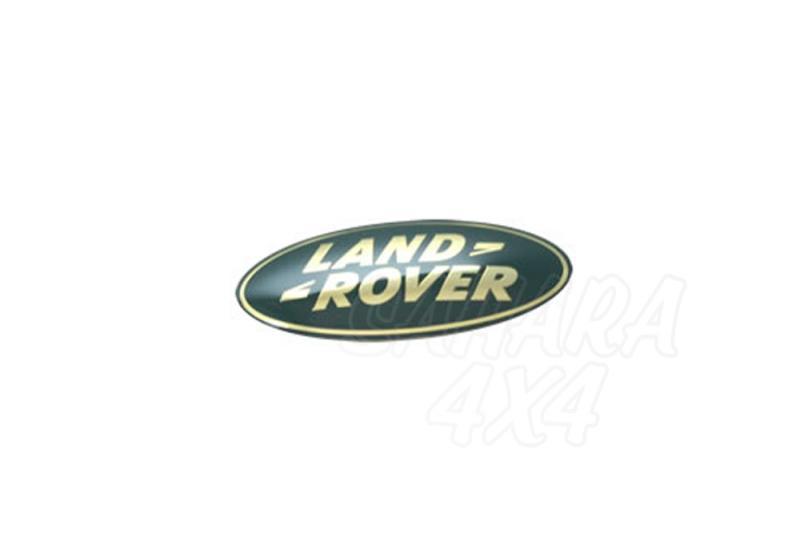 Logo frontal Land Rover Discovery 1-2-3, Freelander 1, Range Rover Vogue + Sport - Adhesivo Land Rover
