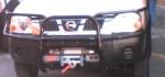 Soporte de Cabrestante Oculto Nissan Navara D-22 Mod. 2003 - Modelo desde 1998 hasta julio 2005, Soporte específico para montar Cabrestante. Fabricado en Acero
