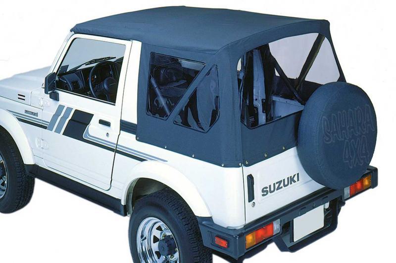 Capota  Deluxe , recambio de una pieza , Suzuki Samurai/SJ - Solo Disponible en negro o blanco