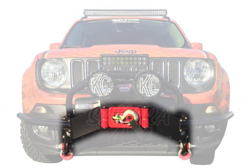 Paragolpes delantero para winch Daystar para Jeep Renegade 2015-2016