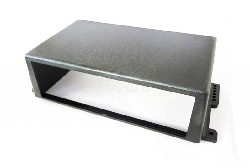 Soporte universal 1 DIN - Ideal para montar un radioCD o una emisora CB. Pulse para más información.