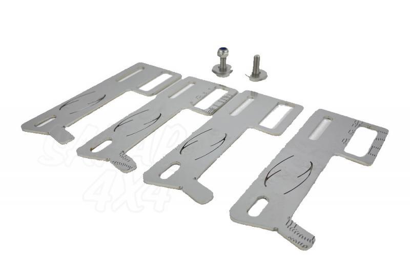 Recolocador latiguillos de Freno Jeep JK inox regulable 6-9 cm