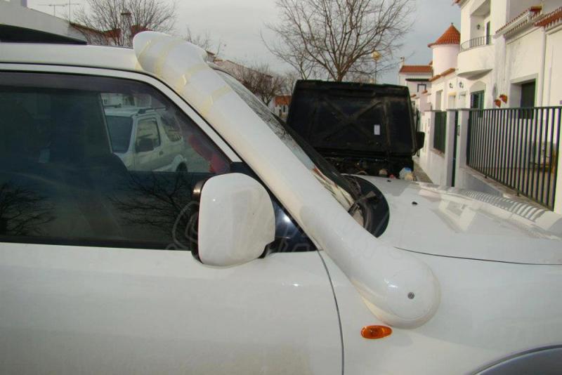 Snorkel Temko new style para Mitsubishi DID - Nuevos snorkels de fibra de vidrio, nuevo estilo + aerodinamico.