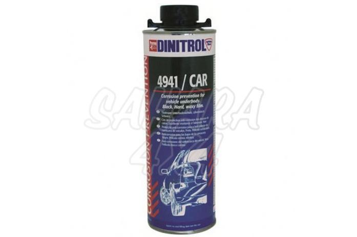 Anticorrosivo para los bajos de la carroceria , Negro , Dinitrol 4941/CAR - 1 Litro , se requiere pistola