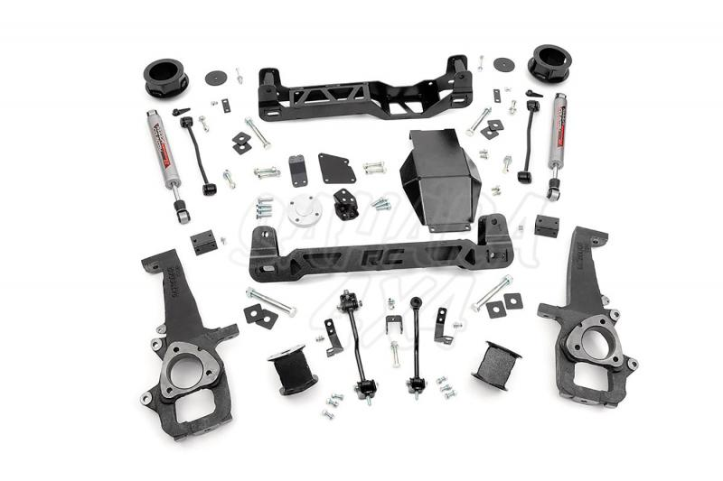 Kit elevacion Rough Country 10.16 cm Dodge Ram 1500 4WD 12-15 - Kit Completo