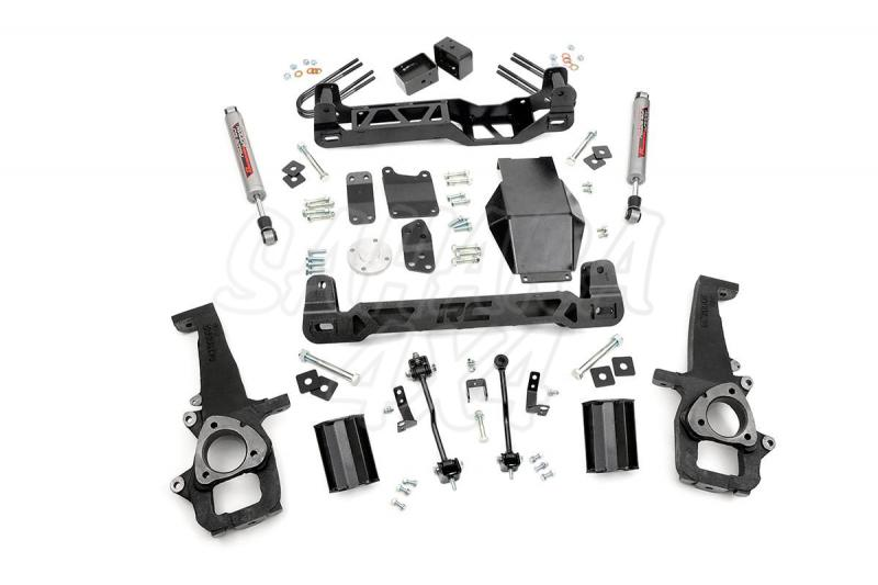 Kit elevacion Rough Country 15.24 cm Dodge Ram 1500 4WD 06-08 - Kit Completo