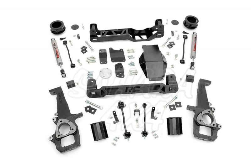 Kit elevacion Rough Country 10.16 cm Dodge Ram 1500 4WD 09-11 - Kit Completo