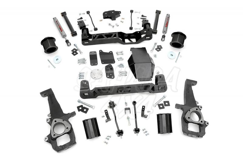 Kit elevacion Rough Country 15.24 cm Dodge Ram 1500 4WD 09-11 - Kit Completo