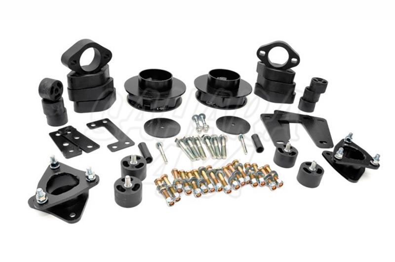 Kit elevacion Rough Country 9.52 cm Dodge Ram 1500 4WD 09-11 - Kit Completo
