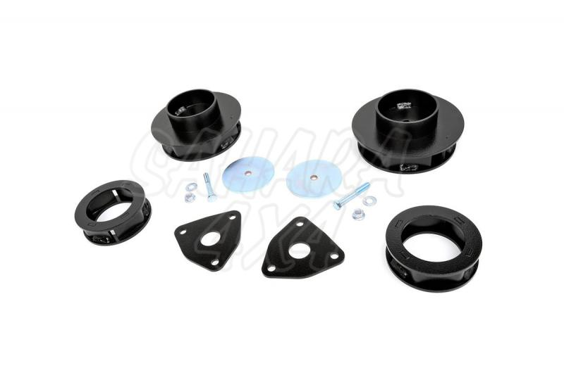 Kit elevacion Rough Country 5.08 cm Dodge Ram 1500 4WD 12-15 - Kit Completo