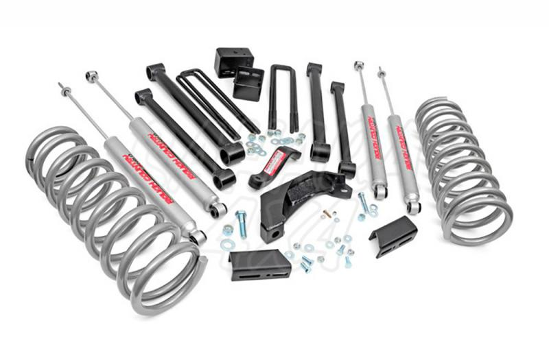 Kit elevacion Rough Country 12.7 cm Dodge Ram 1500 00-01 - Kit Completo