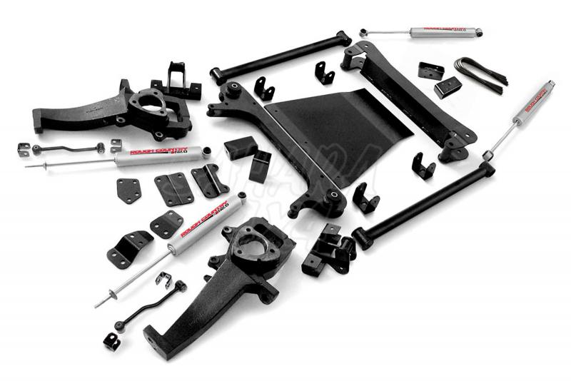 Kit elevacion Rough Country 12.7 cm Dodge Ram 1500 02-05 - Kit Completo