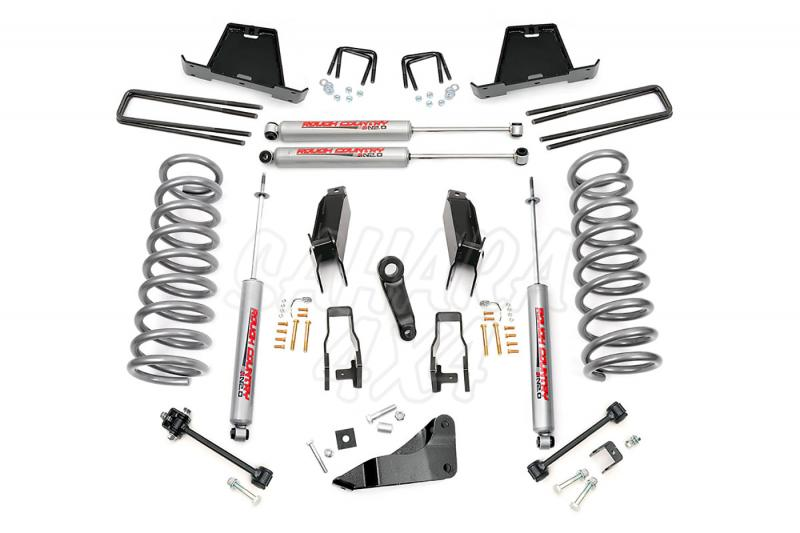 Kit elevacion Rough Country 12.7 cm Dodge Ram 2500/3500 03-07 - Kit Completo