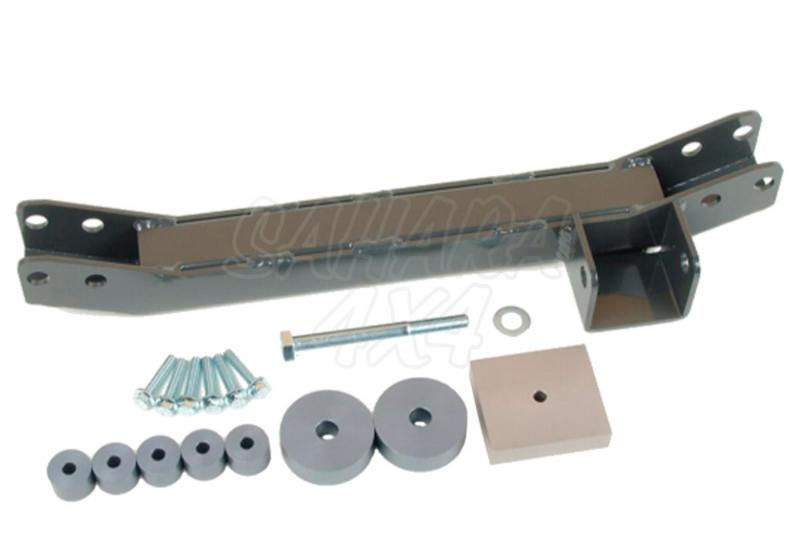 Kit para bajar eje delantero HDJ 100 Suspension independiente - Valido para HDJ100 Suspension independiente