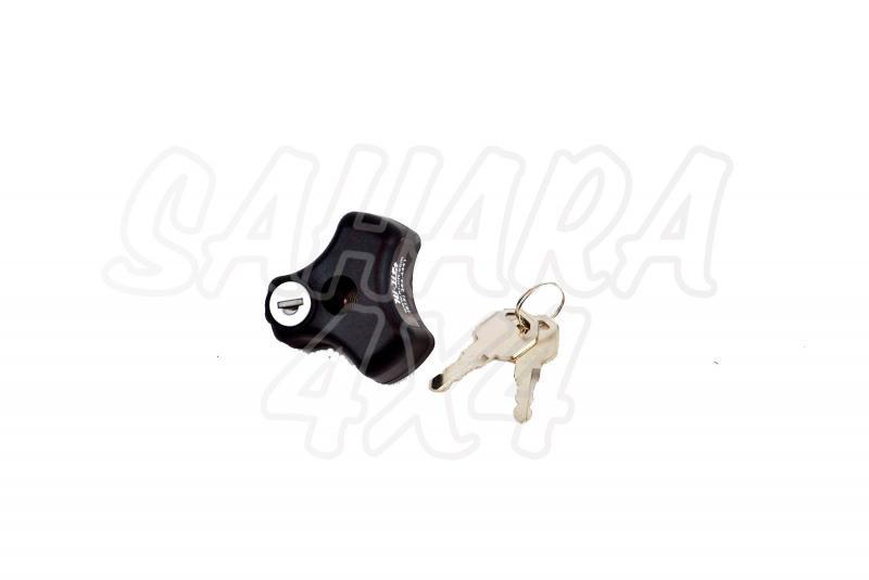 Cierre seguridad con llave para soporte Hi-Lift®  - Asegure su Hi-Lift !