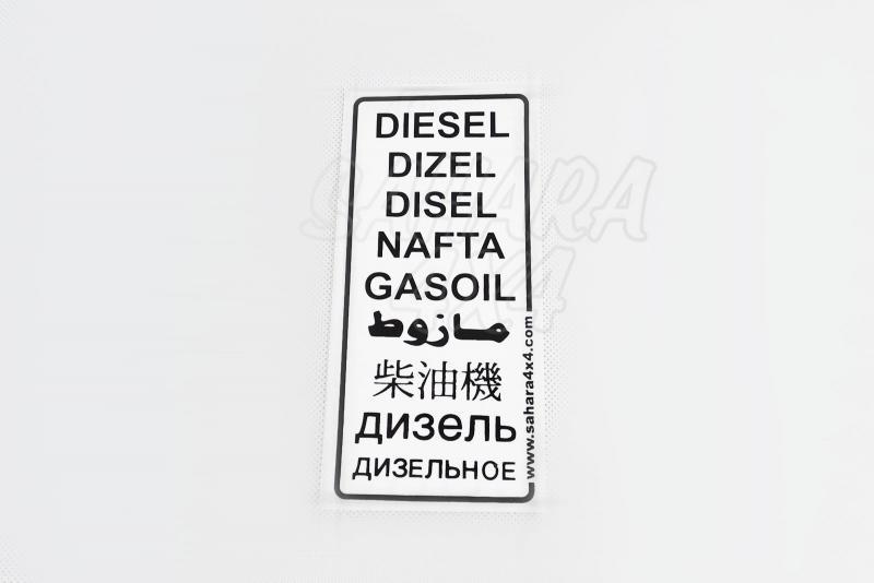 Pegatina de Diesel