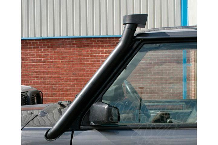 Snorkel para Range Rover Clasic - Motores 200, 300 Tdi , V8. Fabricado en acero.