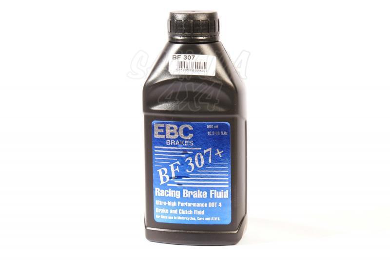 Líquido de Frenos EBC Altas Prestaciones - Bote 500ml, DOT 4 - Ebullición 307º