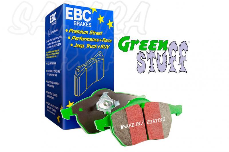 Pastillas de Freno Traseras EBC Toyota FJ Cruiser  - EBC Greenstuff -Verde