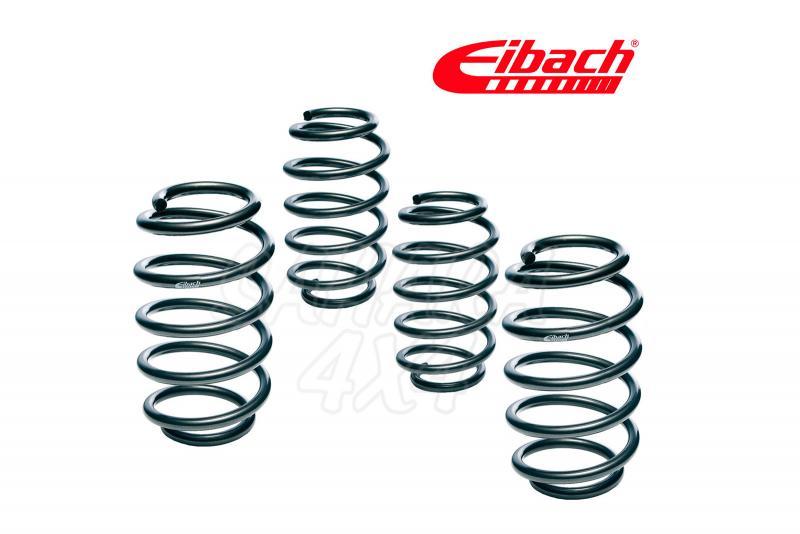 Kit Muelles Eibach +25mm para Dacia Duster 4x4 - Motorizaciones: 1.5 dCi 4x4, 1.6 16V 4x4
