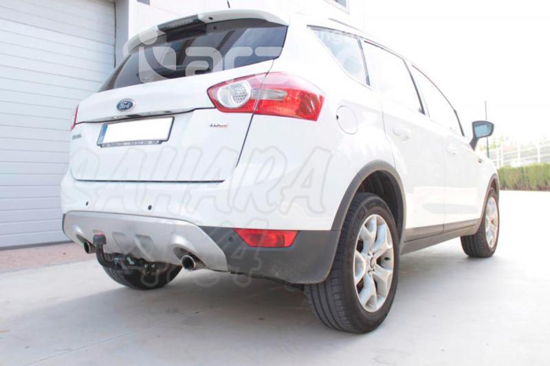 Enganche de Remolque Extraible Horizontal Ford Kuga 2008-2012 - Consultar homologacion.