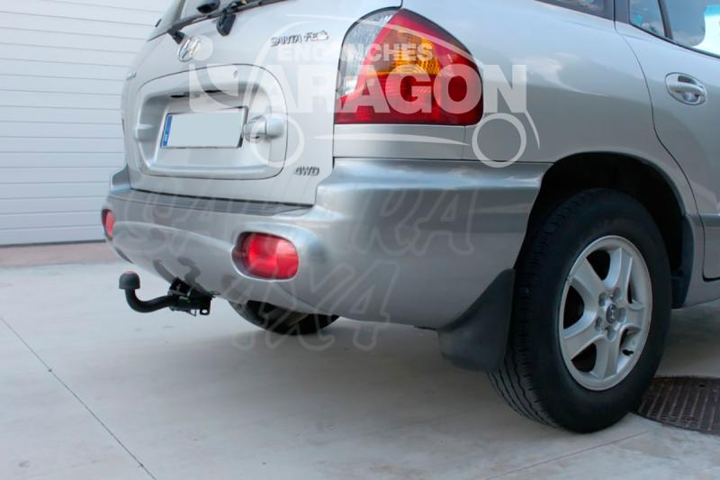 Enganche de Remolque Fijo Hyundai Santa Fe 2000-2006 - Consultar homologacion.