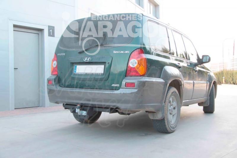 Enganche de Remolque Tipo Placa Hyundai Terracan 7/2001- - Consultar homologacion.