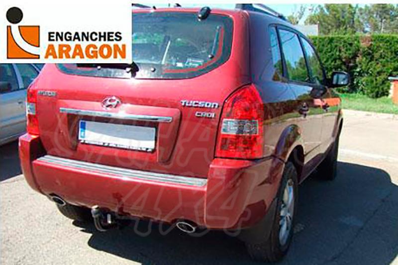 Enganche de Remolque Fijo Hyundai Tucson 2004-2009 - Consultar homologacion.