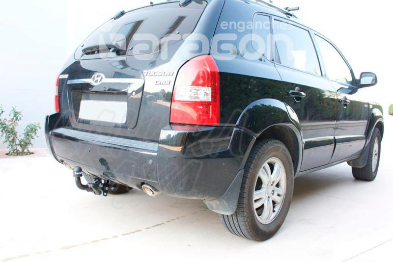 Enganche de Remolque Extraible Horizontal Hyundai Tucson 2004-2009 - Consultar homologacion.