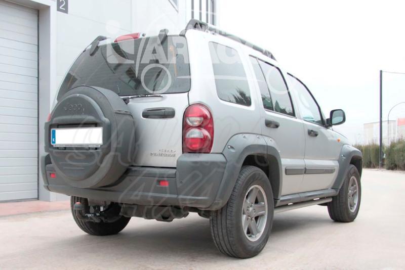 Enganche de Remolque Extraible Horizontal Jeep Cherokee KJ 2001-2007 - Consultar homologacion.