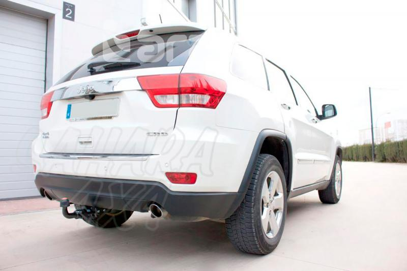 Enganche de Remolque Extraible Horizontal Jeep Grand Cherokee WK 2011-2013 - Consultar homologacion.