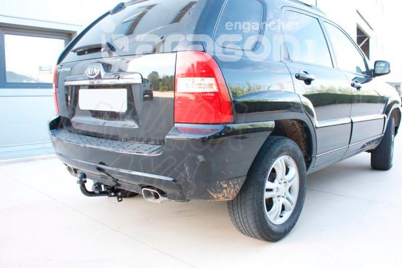 Enganche de Remolque Fijo Kia Sportage II 2004-2010 - Consultar homologacion.