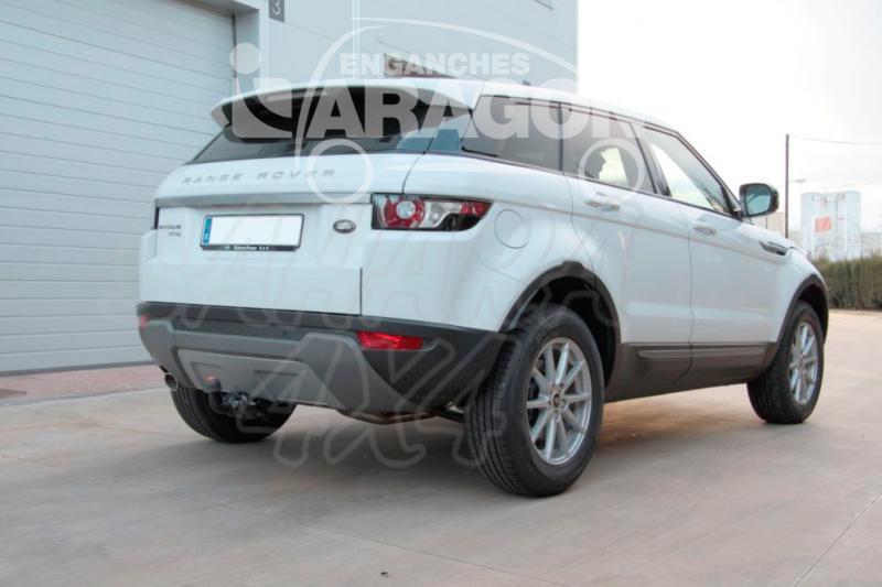 Enganche de Remolque Extraible Horizontal Range Rover Evoque 2011- - Consultar homologacion.