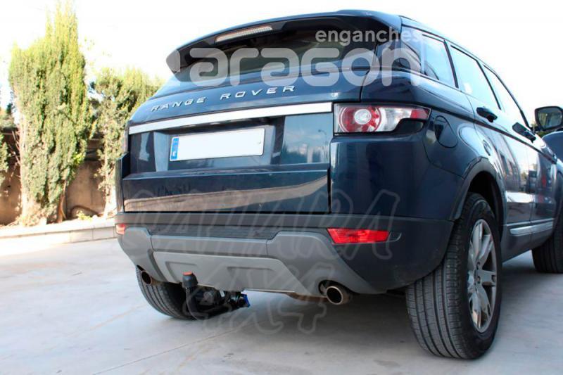 Enganche de Remolque Extraible Vertical Range Rover Evoque 2011- - Consultar homologacion.