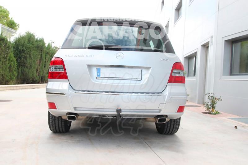 Enganche de Remolque Extraible Vertical Mercedes-Benz GLK 2008- - Consultar homologacion.