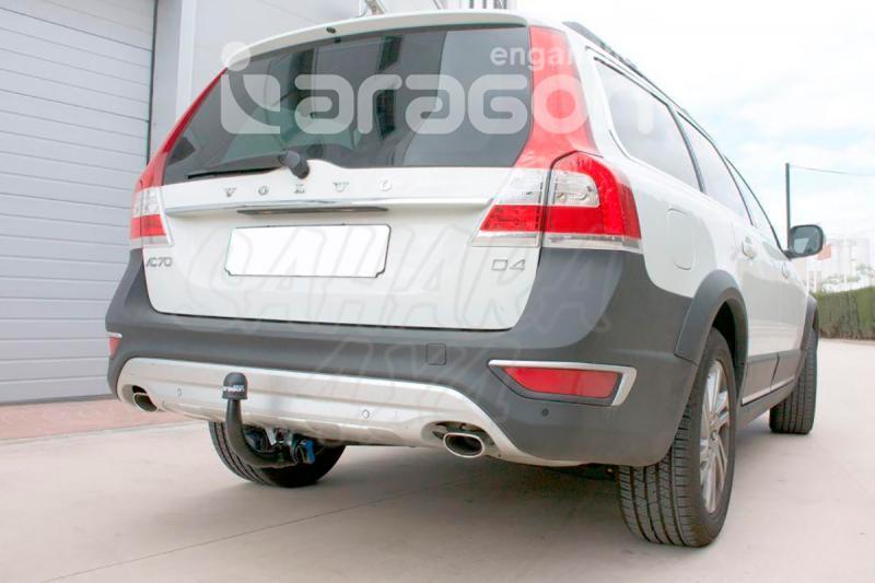 Enganche de Remolque extraíble vertical Volvo XC70 2007-