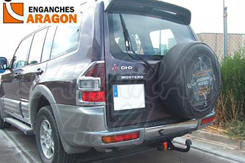 Enganche de Remolque Fijo Mitsubishi Montero/Pajero 5 puertas 4/2000-2006 - Consultar homologacion.