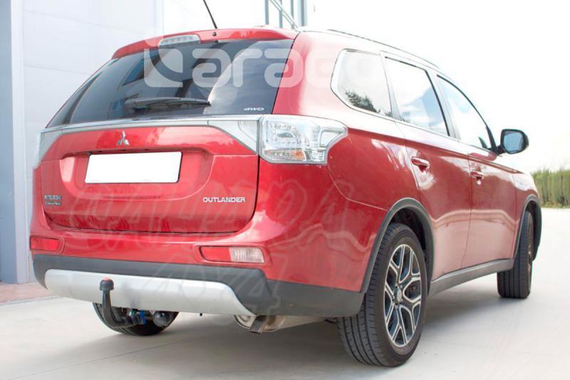 Enganche de Remolque Extraible Vertcial Mitsubishi Outlander 2012- - Consultar homologacion.