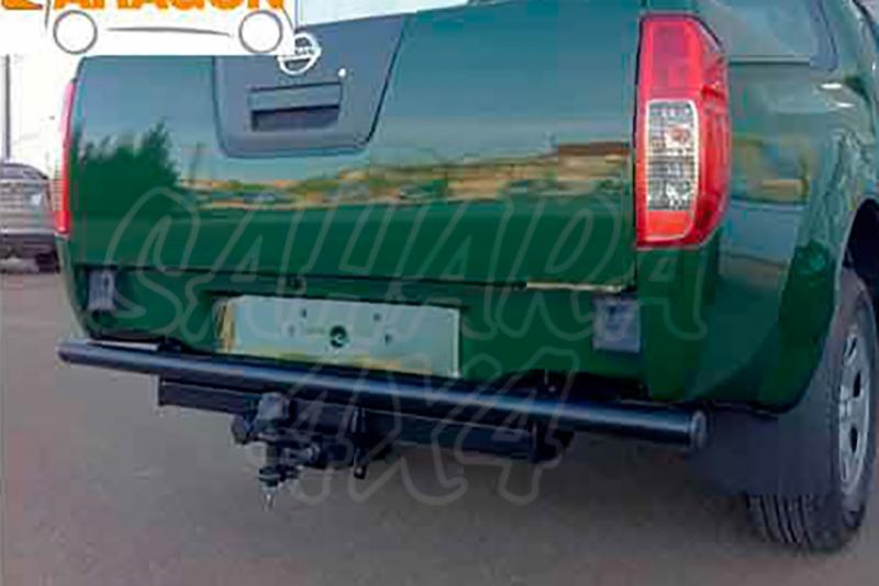 Enganche de Remolque Tipo Bulón Nissan Navara D40 Con barra antiempotramiento 2005-4/2010 - Consultar homologacion.