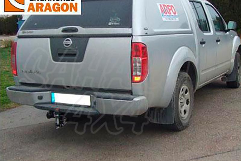Enganche de Remolque Tipo Bulón Nissan Navara D40 Con Paragolpes 2005-4/2010 - Consultar homologacion.