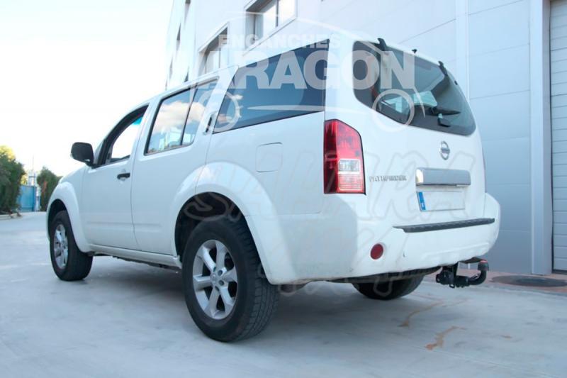 Enganche de Remolque Extraible Horizontal Nissan Pathfinder 2004-2/2010 - Consultar homologacion.
